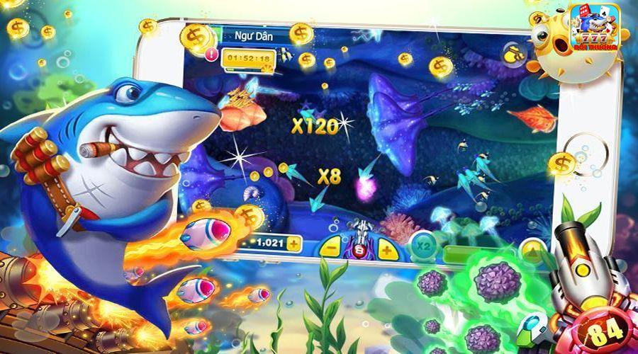 trò chơi bắn cá đổi thưởng