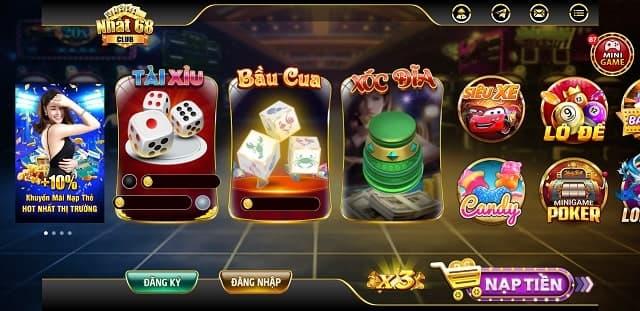 Kho game Nhất 68 Club