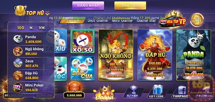 Kho game Vip789 Club